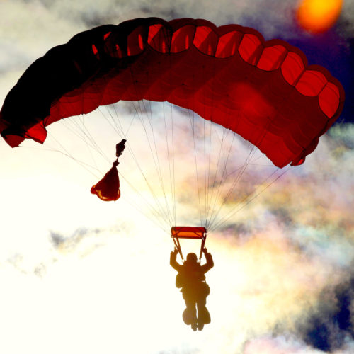 Buckt - tickets and activities subscription box - go parachuting