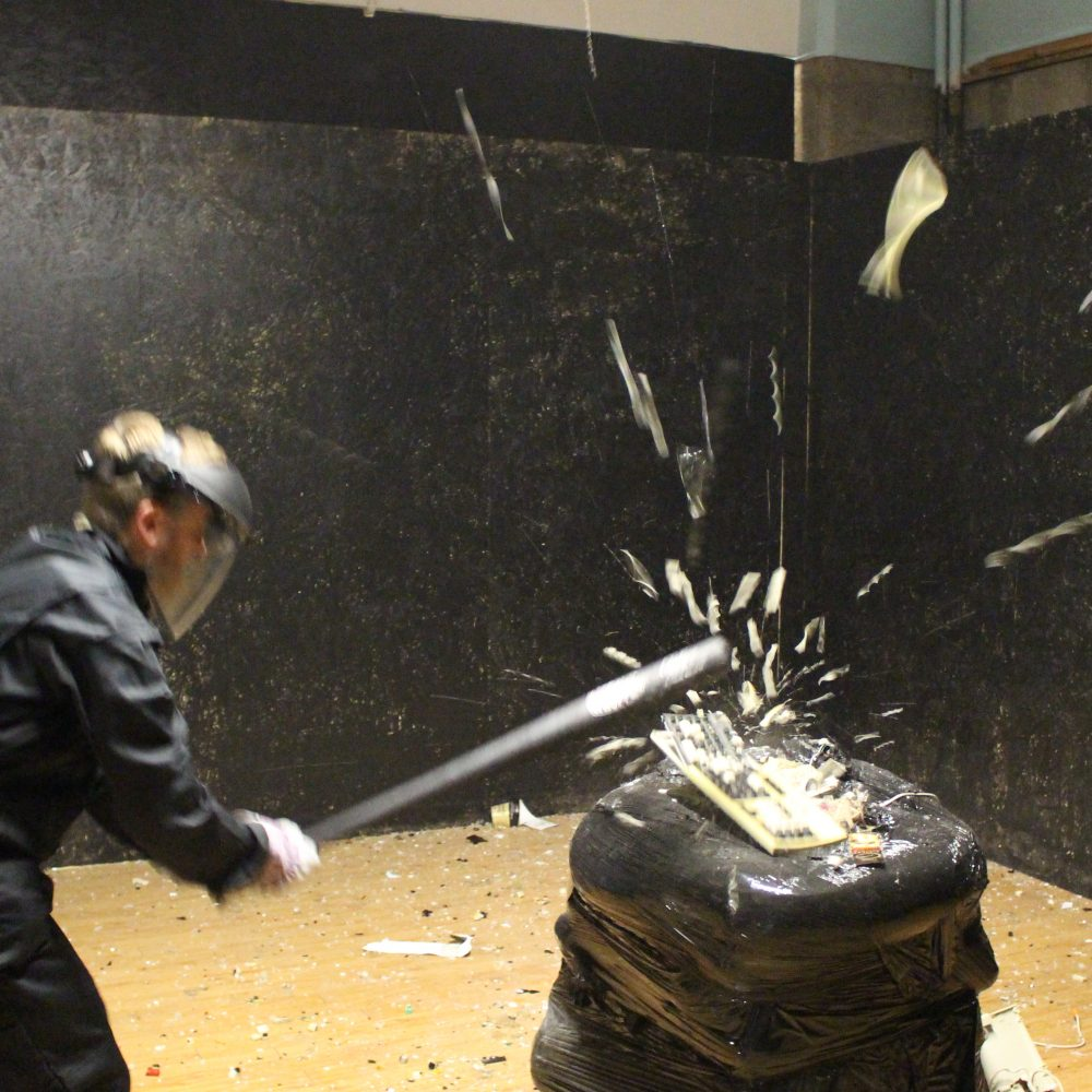 Buckt - Things to do in Birmingham - Rage Room 3